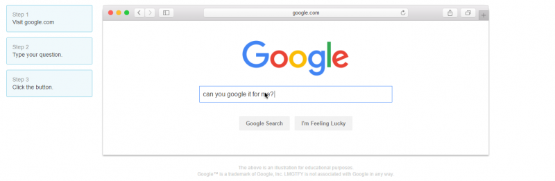 8 cool things you can do on Google: Let me Google that for you