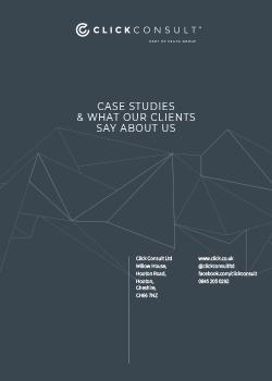 Click Consult Case Studies