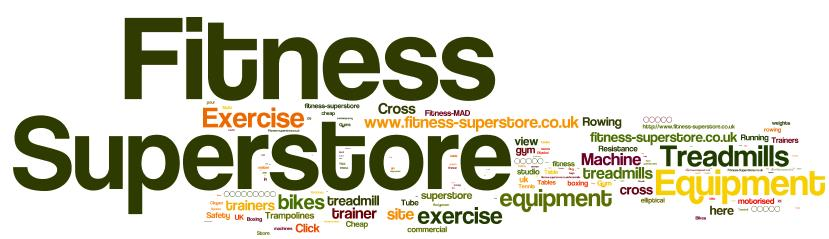 Fitness Superstore anchor text