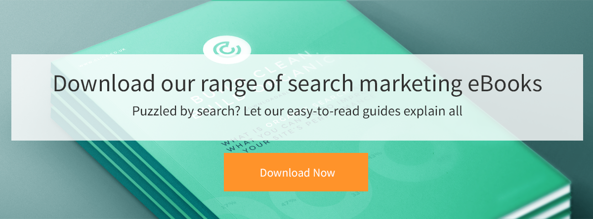 Download our range of search marketing eBooks