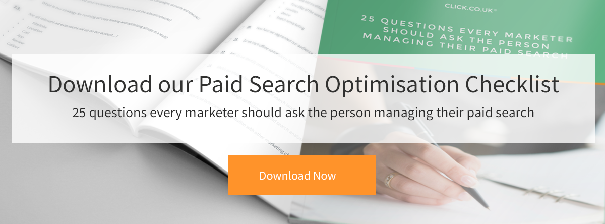 25 Questions for Paid Search ebook