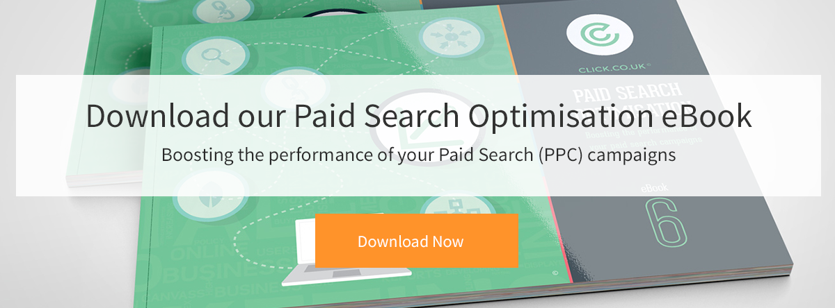 Paid Search Optimisation eBook