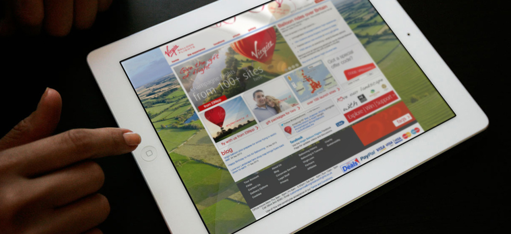 Virgin Balloon Flights' Paid Search Campaign