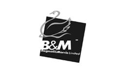 B&M Waste Management Logo