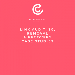 Link Auditing Removal Case Studies