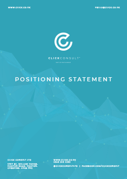 Positioning Statement Click Consult