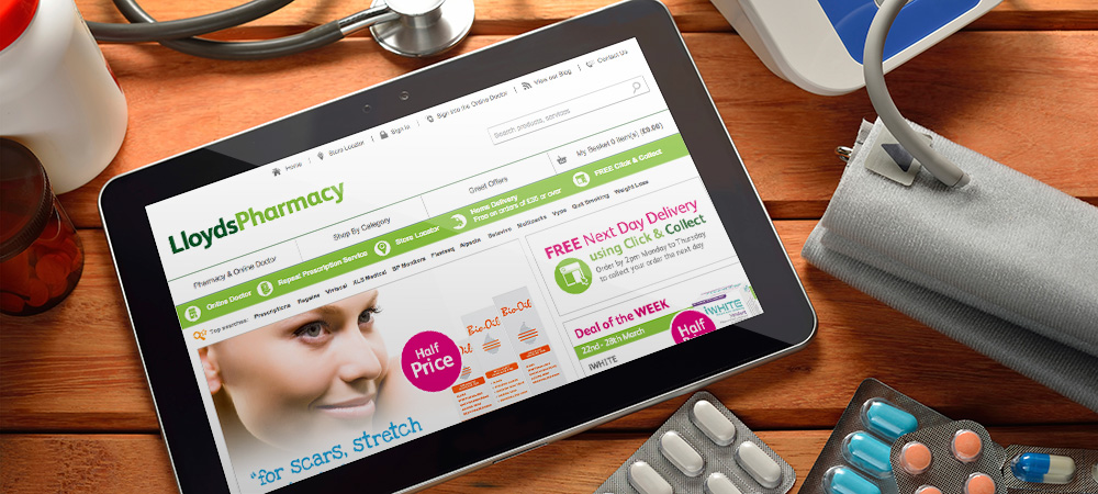 Lloyds Pharmacy organic search case study