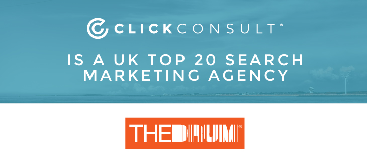 We're a top 20 search marketing agency