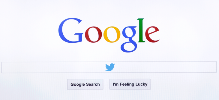 Tweets to show in Google desktop searches