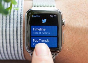 Twitter News Smart Watch
