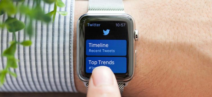Twitter News Smart Watch