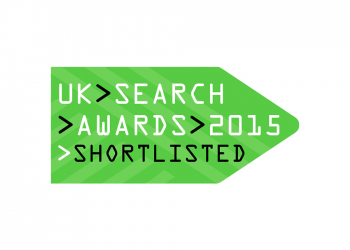 UK search awards banner