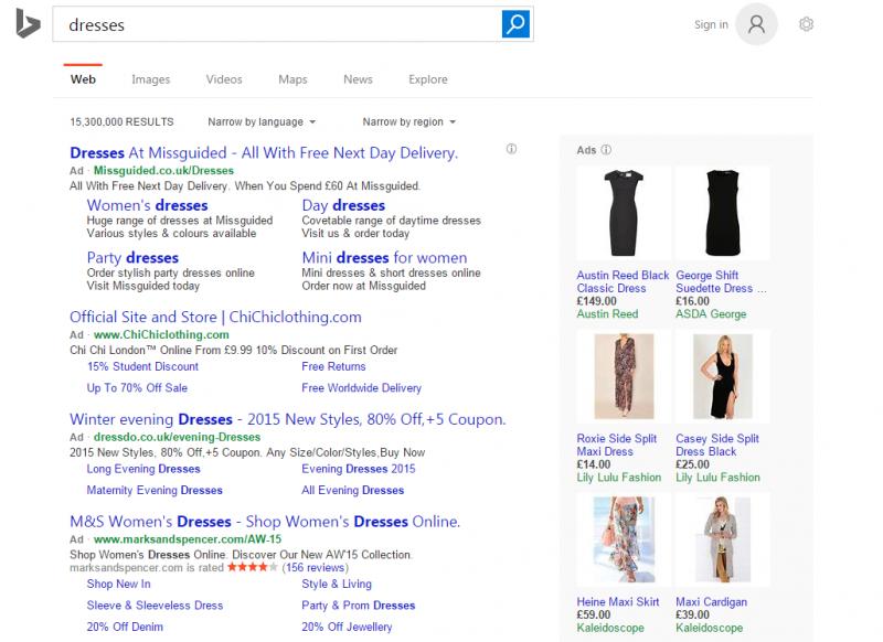 Bing Dresses