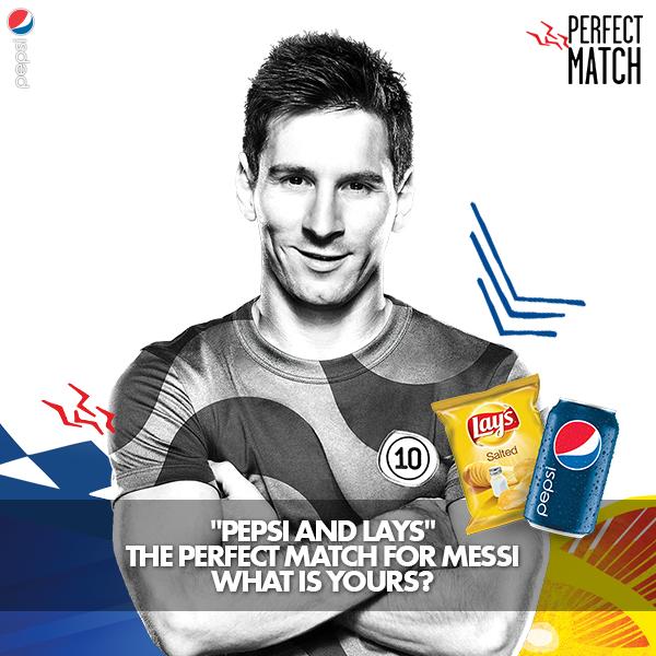Pepsi Messi ad