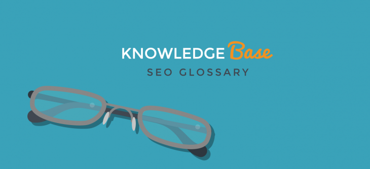 SEO glossary blog header