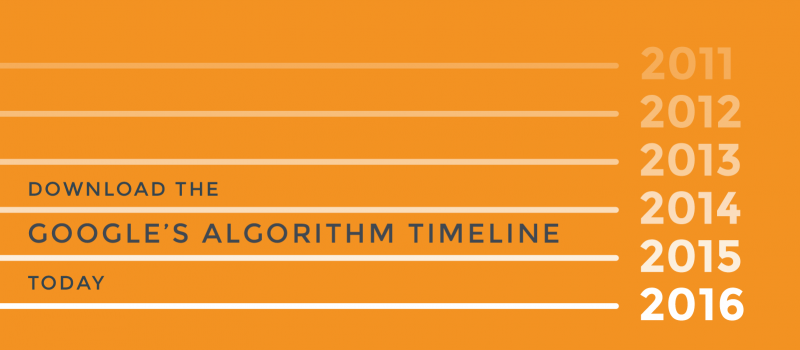 google agorithm timeline download prompt