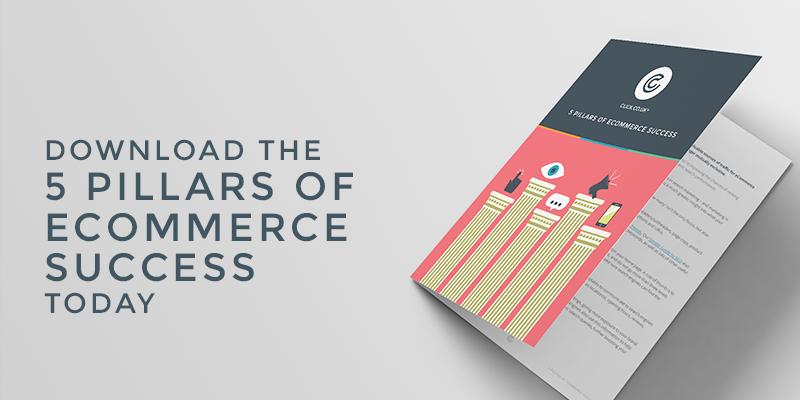5 pillars of ecommerce success ebook