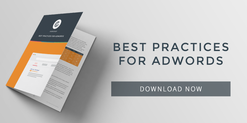 Best Practices for adwords eBook download now