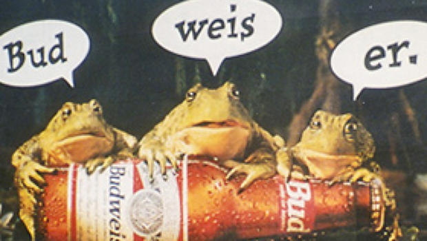 Budweiser Frogs Image