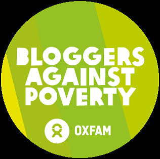 Bloggers against poverty badge