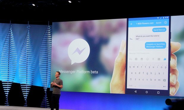 facebook announces chat bots