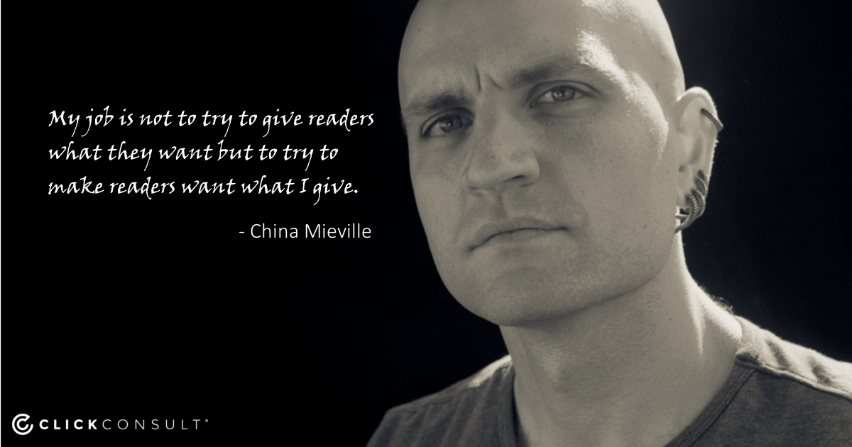 China Mieville quote