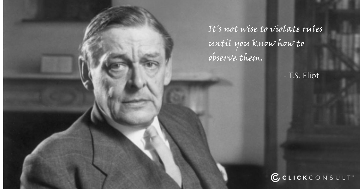 TS Eliot Quote