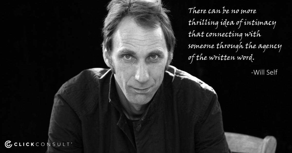 Will Self Quote