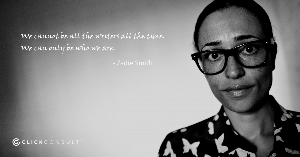 Zadie Smith Quote