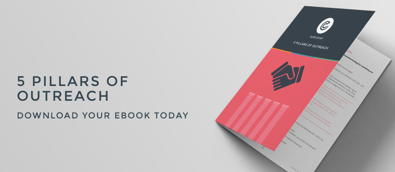 5 pillars of outreach ebook header