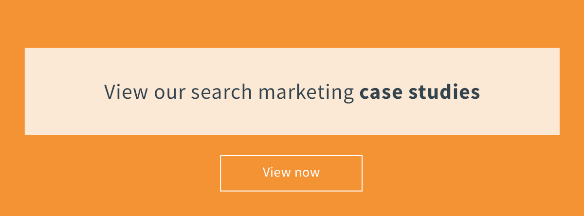 Search marketing case studies