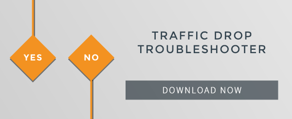 Traffic Drop Troubleshooter email-CTA-download
