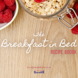 breakfast in bed ebook cover