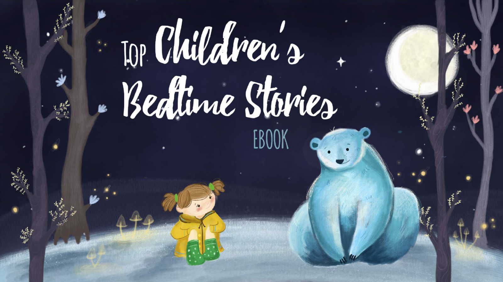 childrens bedtime stories ebook cover