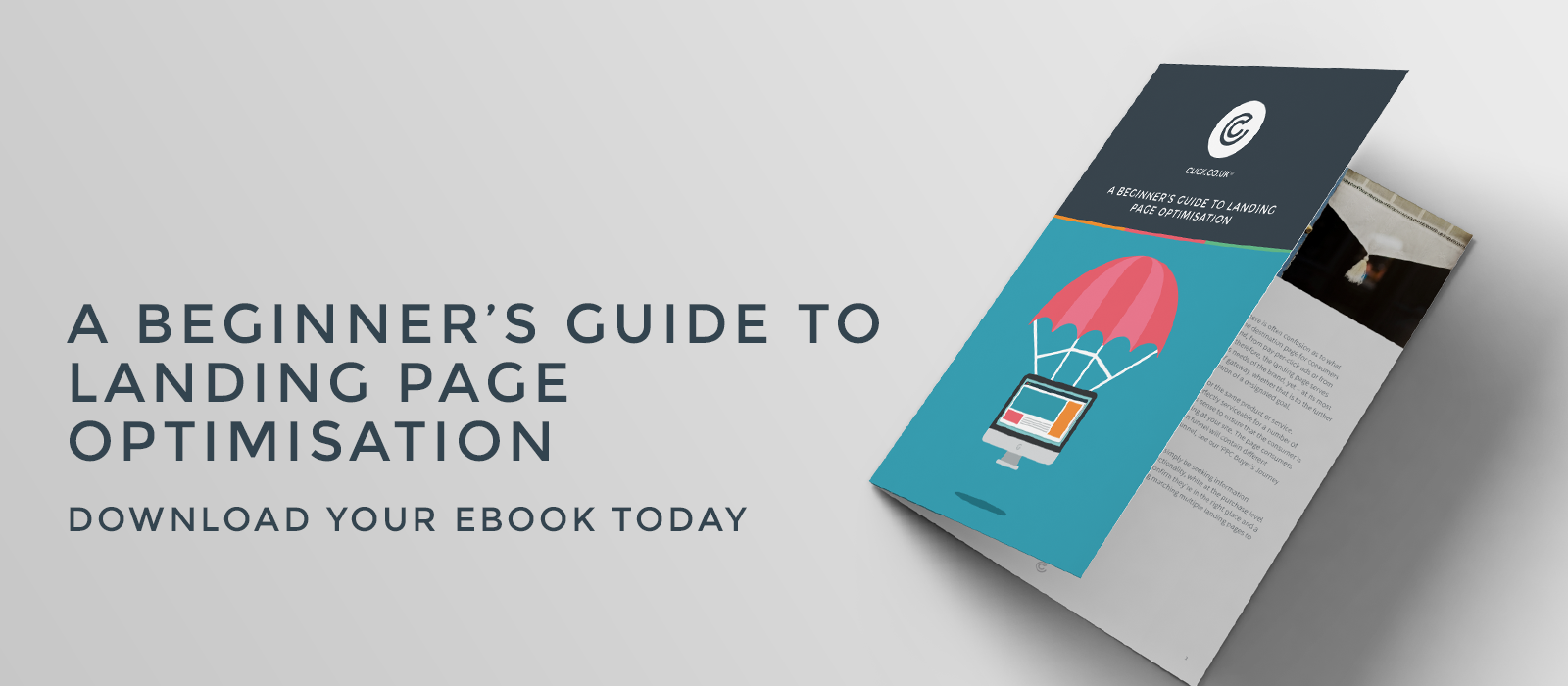 landing page optimisation ebook header