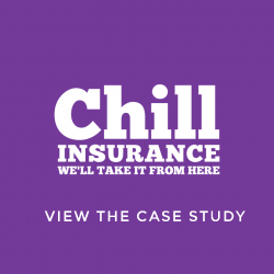 chill insurance video case study