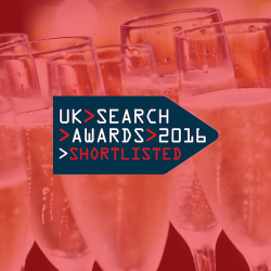 UK Search Award shortlists feature Click Consult twice
