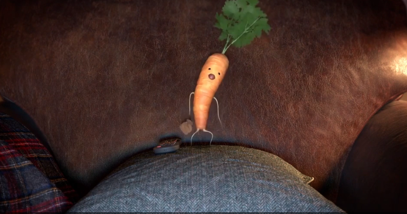 kevin carrot waches john lewis ad