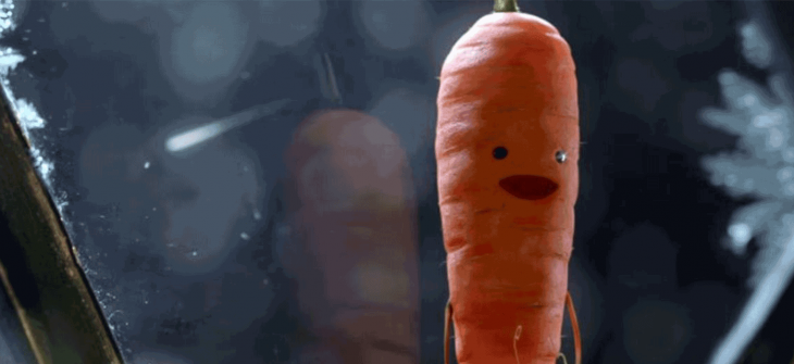 kevin the carrot aldi ad