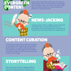thinking outside the marketing buzzword box infographics
