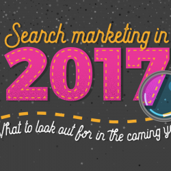 Search marketing in 2017 [predictions infographic]