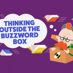 Marketing 101 – Thinking outside of the buzzword box [INFOGRAPHIC]