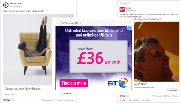 offer ads