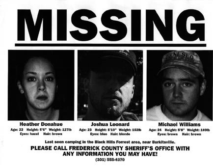 blair witch marketing poster