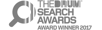 The Drum Search Awards Winner Logo