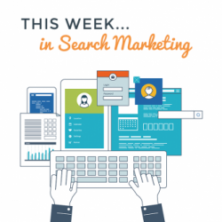 This week in search marketing [14/01/2019]