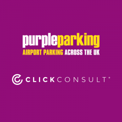 Click Consult appointed by airport parking specialist, Purple Parking