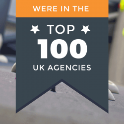 We've been listed in The Drum's Top 100 Independent Agencies