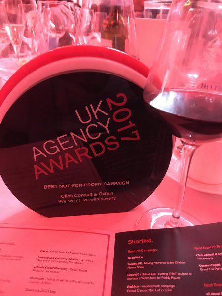 uk agency awards 2017 oxfam