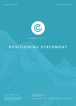 Click Consult's Positioning Statement